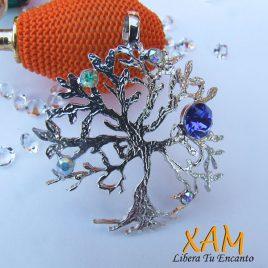 Colgante árbol de la vida creado con Crystales de Swarovski®