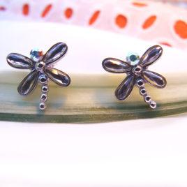 Encantadores pendientes libélulas